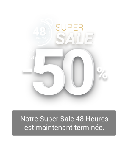 48-Hour Super Sale: Up to 50% Off