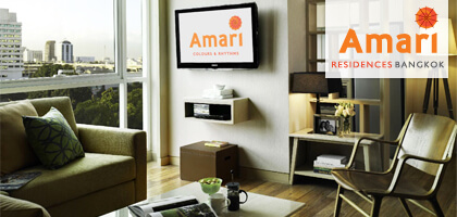 Amari Residences Bangkok Hotel Photos